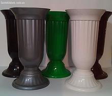 Пластикова ваза для квітів