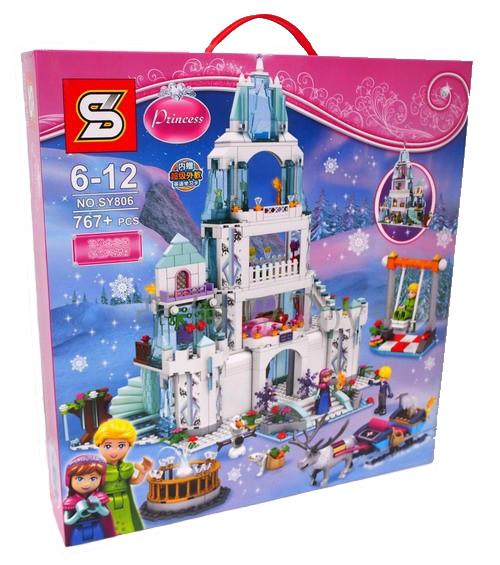 """Конструктор Disney Princess SY806 (аналог Lego ) """"Холодное сердце: Романтический замок"""", 767 дет"""