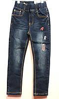 Весенние джинсы для мальчиков с поясом под резинку от 1 до 5 лет. На рост 86-110см. Фирма-Niebieski Польша.