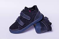 Ботинки подростковыекожаные, кожаная детскаяобувь от производителя модель ДЖ7050