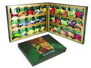 """Набор Greenfield """"Коллекция изысканного чая и чайных напитков"""" 24 видов 96 пакетиков, фото 2"""