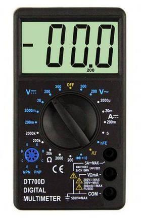 Цифровой мультиметр DT700D, фото 2