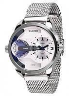 Чоловічі наручні годинники Guardo P10538(m) SW