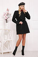 Шерстяное пальто без воротника, фото 1