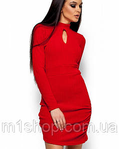 Женское асимметричное платье по фигуре (Ларетти kr)