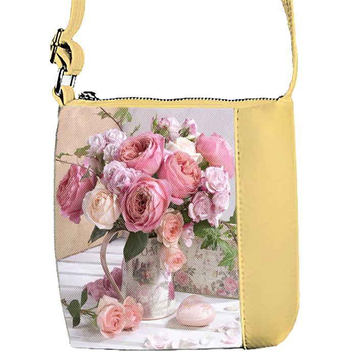 3201a246eba2 Купить детскую сумку для девочки с принтом Цветы - Вишиванки оптом и в  розницу - «