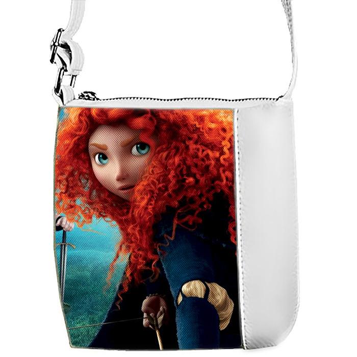 Детская сумка для девочки с принтом Храброе сердце