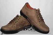 Туфлі чоловічі шкіряні 40-45 Traffic арт 88 оливка.
