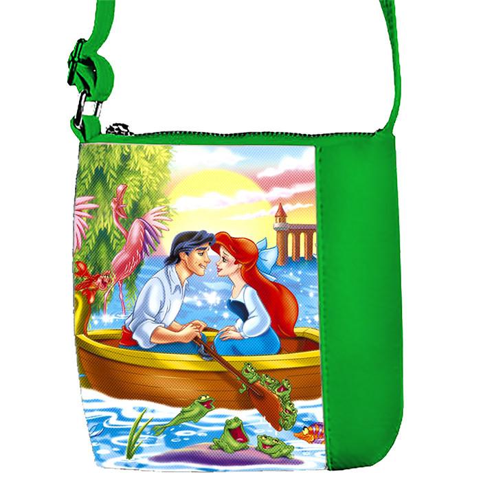 Детская сумка для девочки с принтом  Ариэль и принц