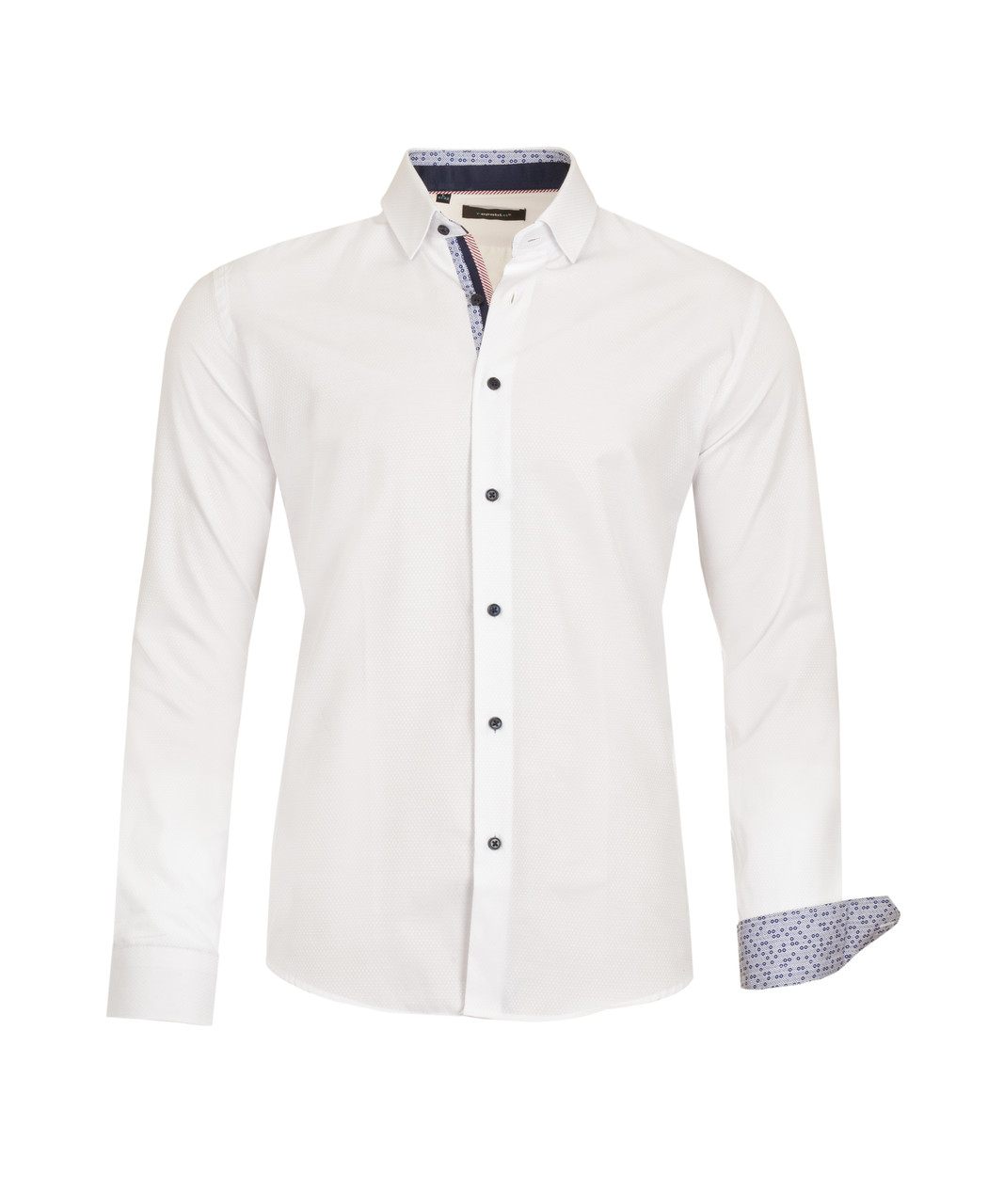 Рубашка мужская Karol Белая