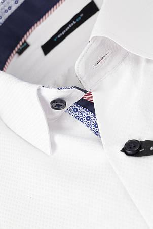 Рубашка мужская Karol Белая, фото 2