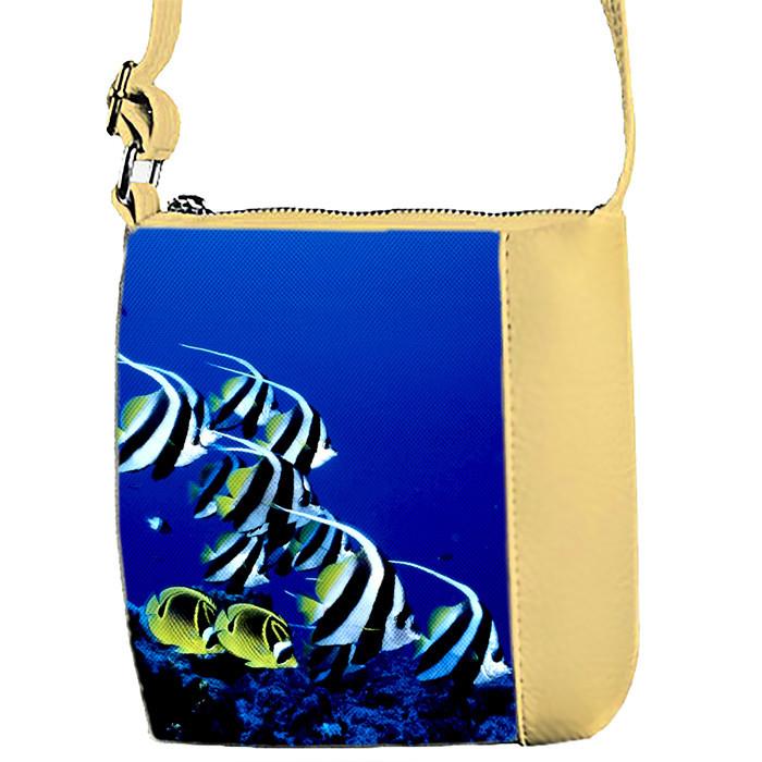 Детская сумка для девочки с принтом Рыбки