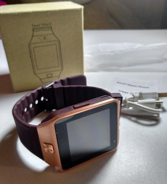 Универсальные смартчасы Smart Watch DZ09 (смарт-часы) SIM, SDcar