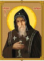 """Схема для вышивки крестом на канве Аида №16 """"Святой Серафим Вырицкий"""""""