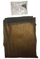"""Москитная сетка на магнитах """"Magic Mesh"""" коричневая., фото 1"""