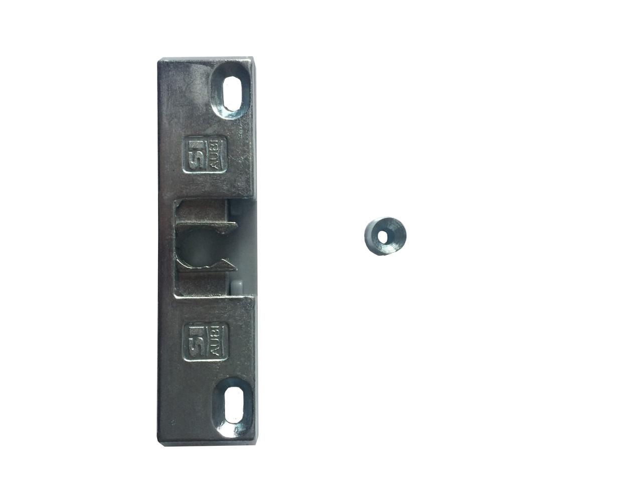 Балконная защелка на металлопластиковую дверь Siegenia (Зигения) 13 система одностворчатая дверь