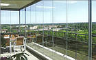Безрамное остекление (цельностеклянные перегородки) город Днепр, фото 4