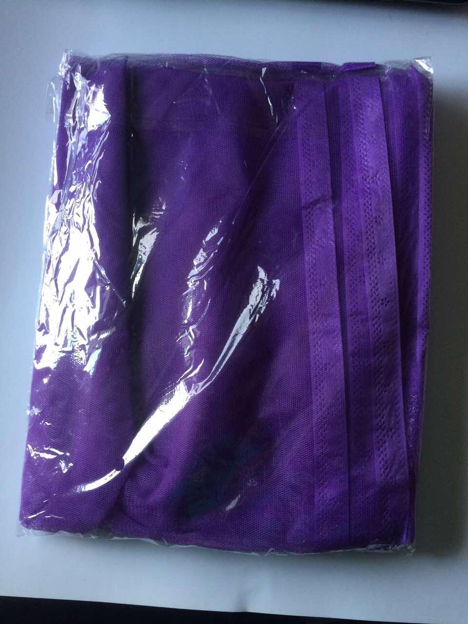 Москитная сетка на магнитах фиолетовый цвет.