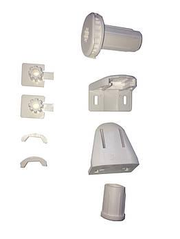Крепления для рулонных штор комплект Besta mini, белые оригинал