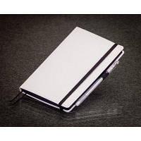 Блокнот белый с черными страницами Мини ( Ежедневник черная бумага )