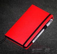 Красный Блокнот с черными листами Мини ( Ежедневник черные страницы )