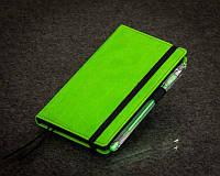 Зеленый Блокнот с черными листами Мини ( Ежедневник черные страницы )