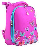 Рюкзак каркасный H-12 Butterfly rose
