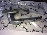 Ручка оконная Schuco Standart (Шуко Стандарт), металлик серая.