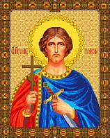 """Схема для вышивки крестом на канве Аида №16 """"Святой Роман"""""""