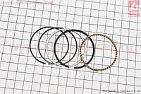 Кольца поршневые  47 мм +0,50 на мопед Дельта 70 сс