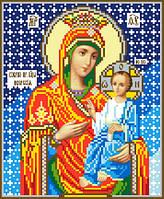 """Схема для вышивки крестом на канве Аида №16 """"Икона Б.М. Иверская"""""""