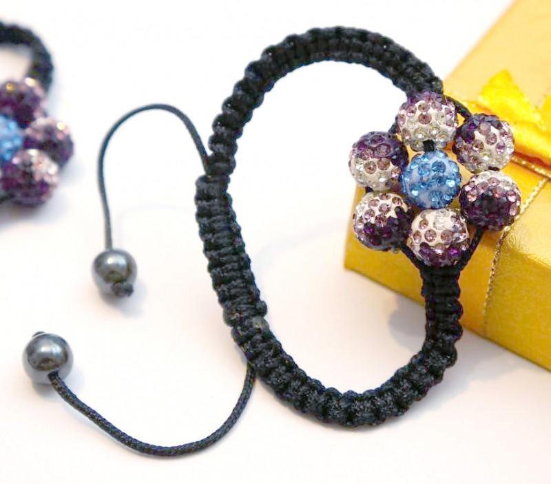 "Необычный женский браслет ""Цветок Шамбалы"""