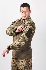 Рубашка Тактическая Убакс ЗСУ пиксель, фото 3