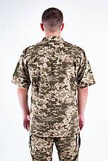 Рубашка Военно-полевая ЗСУ пиксель из Рубашечной ткани, фото 3