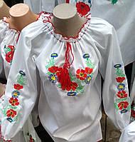 Женская вышиванка Цветы