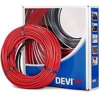 Кабель нагрівальний двожильний DEVIflexTM 18T (7,0 м) тепла підлога Devi, фото 1