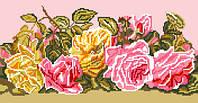 """Схема для вышивки крестом на канве Аида №16 """"Розовый букет"""""""