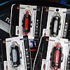 Фонарь велосипедный USB красный/белый C19-093-RW