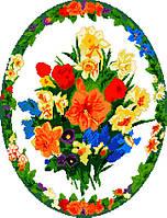 """Схема для вышивки крестом на канве Аида №16 """"Букет цветов"""""""
