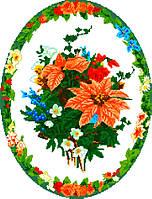 """Схема для вышивки крестом на канве Аида №16 """"Букет цветов 2"""""""