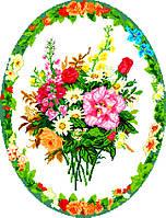 """Схема для вышивки крестом на канве Аида №16 """"Букет цветов 3"""""""