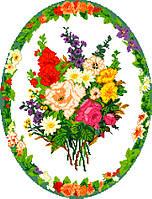 """Схема для вышивки крестом на канве Аида №16 """"Букет цветов 4"""""""