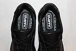 Туфли мужские кожаные 40-45 Traffic арт 316 черные флотар., фото 8