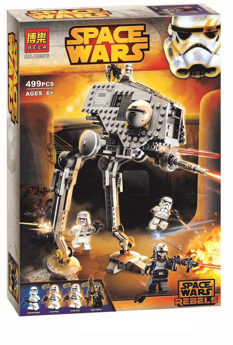 """Конструктор Bela 10376 Star Wars """"Вездеходная оборонительная платформа"""" (аналог Lego 75083), 499 дет"""