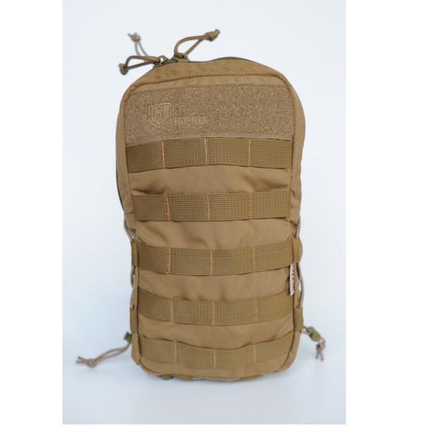 Тактическая сумка (подсумок)  MOLLE для гидросистемы и других вещей coyote (койот) от Hofner