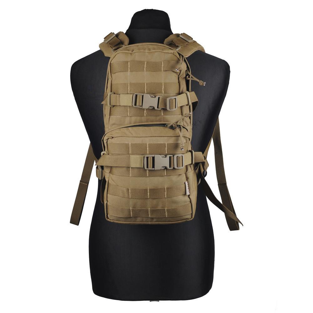 Штурмовой тактический рюкзак от Hofner (однодневный - 8л, Coyote)