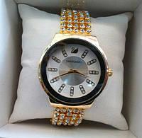 Наручные часы Swarovski белые кристаллы