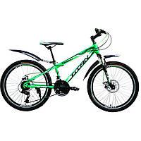"""Велосипед горный Titan Forest 26""""×13"""" (Green-Black-White)"""