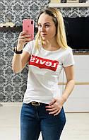 Женская футболка Levi's 100% котон.