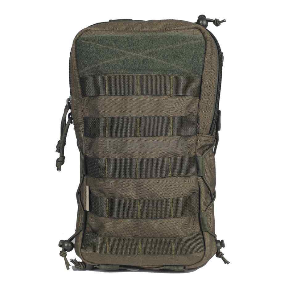Тактическая сумка (подсумок)  MOLLE для гидросистемы и других вещей Olive (олива) от Hofner
